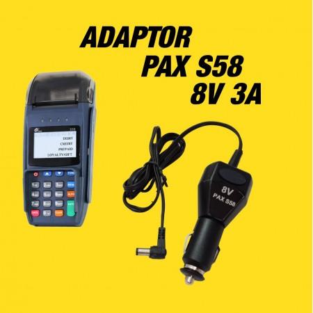 شارژر فندکی کارتخوان PAX S58