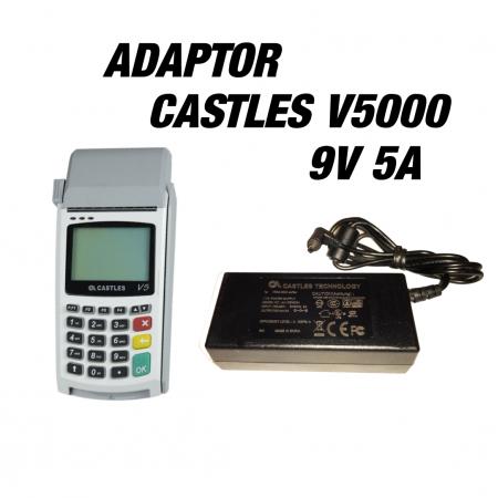 آداپتور 9ولت 5 آمپر CASTLES VEGA5000